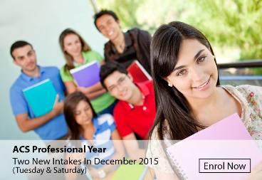 December Intake